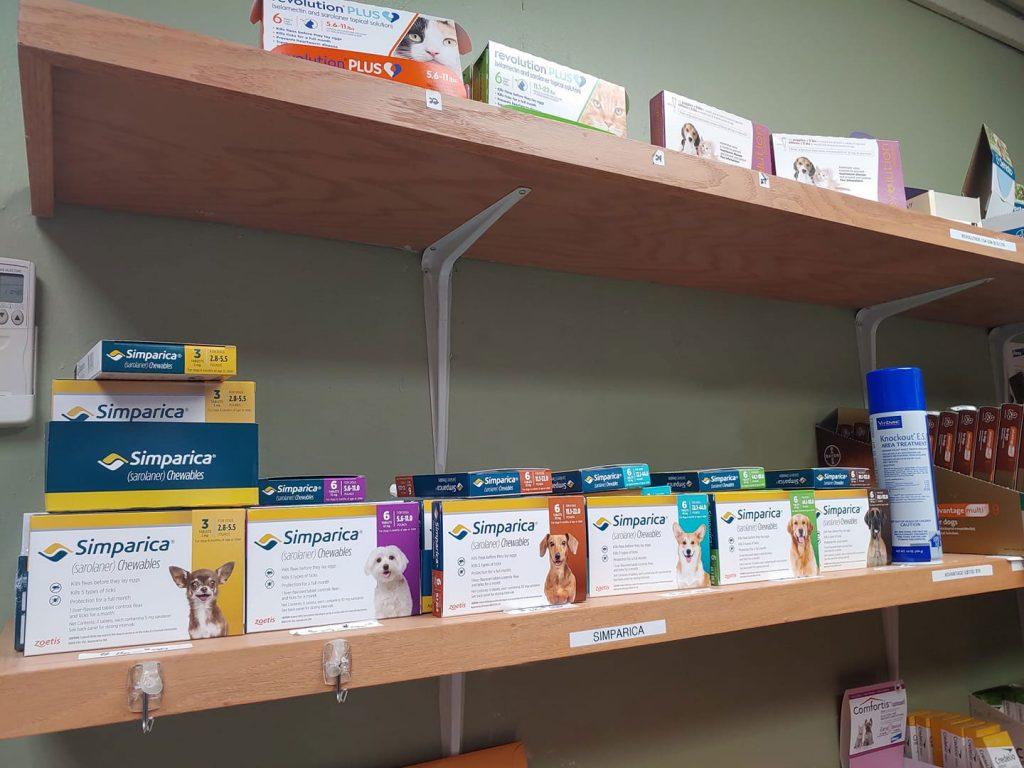 Flea Medications at Columbia Veterinary Hospital